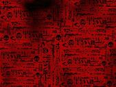 War post-apocalyptic design artwork — Stock Photo