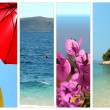 Images of croatia and adriatic sea — Stock Photo