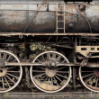 Old damaged rusted train — Stock Photo