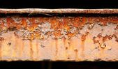 Detail of abstract industrial rusty machine — Stock Photo