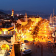 Beautiful Trogir City in the Night, Croatia — Stock Photo
