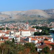 "Landscape panorama of the historic town ""Trogir"", Croatia — Stock Photo"