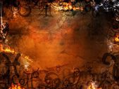 Mysterious spells background — Stock Photo