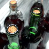 Wine details vinification - photo set — Stock Photo