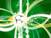 Football soccer background concept brazil — Stock Photo