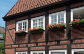 Typical German house — Stock Photo