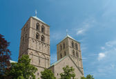 St. Paulus cathedral in Munster — Stock Photo