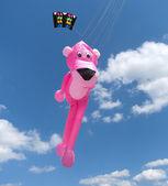 Pink panther kite — Stock Photo