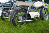 Vintage motorcycles — Stock Photo