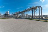 Olieraffinaderij — Stockfoto