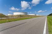 Almacenaje de aceite — Foto de Stock