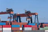 Container terminal — Foto de Stock