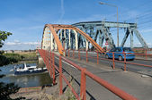 Eisenbahnbrücke — Stockfoto