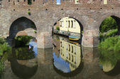 Medieval city wall — Stock Photo