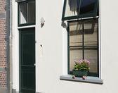 Window and front door — Stock Photo