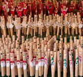 Christmas flutes — Stock Photo