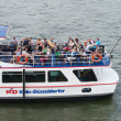 River tourist boat — Stock Photo