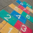 Hopscotch game — Foto Stock