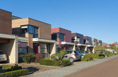 Casas de cidade modernas — Foto Stock