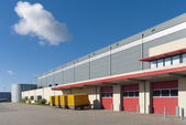 Warehouse exterior — Stock Photo