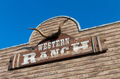 Western ranch — Stock Photo