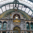 Antwerp central train station - Stock Photo