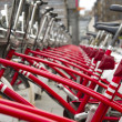 City bicycles — Stock Photo