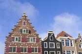 Dom w amsterdamie — Zdjęcie stockowe