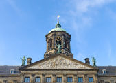 Royal palace in Amsterdam — Stock Photo