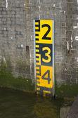 индикатор уровня воды — Стоковое фото