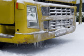 Frozen truck — Stock Photo