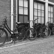 Stock Photo: Vintage bicycles