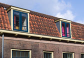 Roof with dormers — Stock Photo