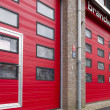 Stock Photo: Fire station