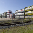 Stock Photo: Bulk tanks