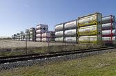 Bulk tanks — Stock Photo