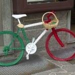 Italian bicycle — Stock Photo
