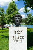 Bust of Roy black — Stock Photo