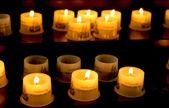 Church candles — Stock Photo