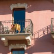 Stock Photo: Small balcony
