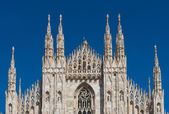 Milano cathedral — Stock Photo