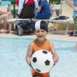 Child in swimming pool — Stock Photo #35257157