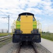 Diesel locomotive — Stock Photo