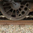 Stock Photo: Train wheel