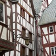 Traditional houses in germany — Stock Photo