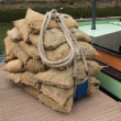 Stock Photo: Jute sacks