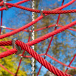 Red ropes — Stock Photo #40508875