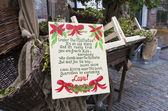 Under the mistletoe poem — Stock Photo