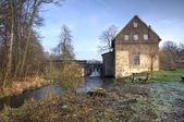 Vattenkvarn i dorsten-deuten, tyskland — Stockfoto