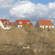 New housing — Stockfoto